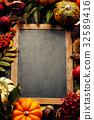 autumn, background, pumpkin 32589416