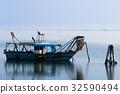 船 钓鱼 捕鱼 32590494