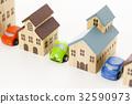 집, 주차장, 차고 32590973
