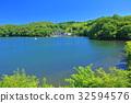 맑은 하늘 아래의 一碧湖 32594576