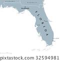 Florida United States political map 32594981