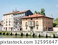스페인, 건물, 푸른 32595647