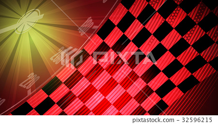 Racing High Speed Track Background Car Theme Stock Illustration