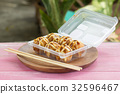 Japanese food Tako Yaki on Box 32596467