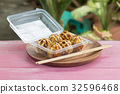 Japanese food Tako Yaki on Box 32596468