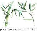bamboo, leaf, foliage 32597340
