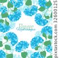 floral, flower, hydrangea 32600125
