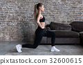 운동, 여자, 여성 32600615