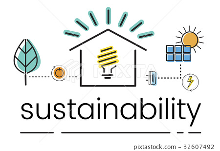 Environment Sustainability Eco Friendly Concept 32607492