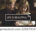 存在 兒童 孩子 32607934