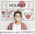 Enjoyment Holiday Vacation Chill Concept 32608935