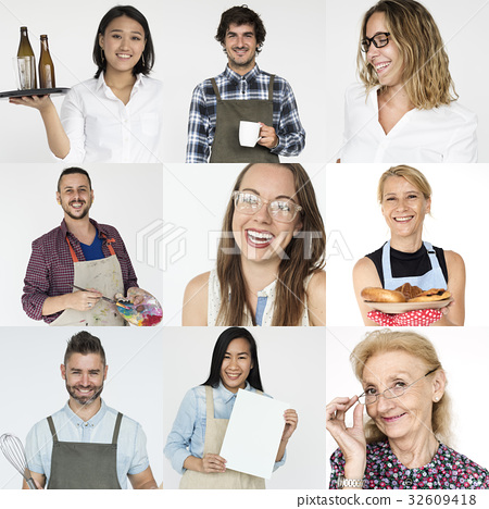 Collection of people startup small business 32609418