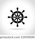 helm, icon, wheel 32609686