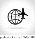 travel icon on white background 32609808