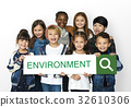 Environemental Friendly Responsibility Nature Word 32610306
