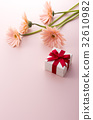 禮品盒 非洲菊 禮物 32610982