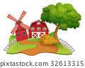 場景 農場 穀倉 32613315