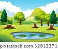 scene landscape forest 32613371