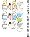 玄鳳鸚鵡 雞尾鸚鵡 鳥兒 32613936