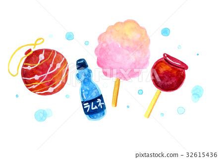 溜溜球 檸檬汽水 棉花糖 32615436