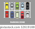 full Parking Zone 32619188