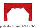 ม่าน,ผ้าม่าน,สีแดง 32619765