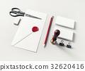 空白 文具 設計模型 32620416