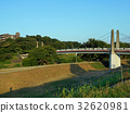 风景 河岸 桥 32620981