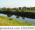 แม่น้ำ,หญ้า,วัชพืช 32620983