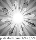 배경, 회색, 벡터 32622724