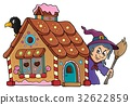 Gingerbread house theme image 2 32622859