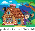 gingerbread, house, character 32622860
