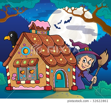 Gingerbread house theme image 4 32622861