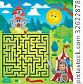 Maze 3 with knight theme 32622878