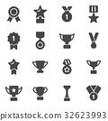 icon trophy vector 32623993
