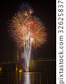 Firework display at Chao Phraya River 32625837