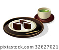 sweetened jelly bean paste, snack, sweet 32627021