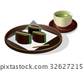 sweetened jelly bean paste, wagashi, japanese confectionery 32627215