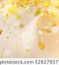 Autumn season blurred leaves. EPS 10 vector 32627937