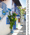 Typical Greek house in Skiathos  - Greece 32630206