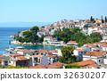 Skiathos town on Skiathos island, Greece 32630207