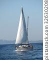 Skiathos, Greece , sailboat near Skiathos island 32630208