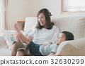 父母和小孩 親子 母子 32630299