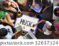 Music Pop Jazz Hiphop Melody 32637124