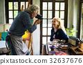 Senior couple on a leisure day 32637676