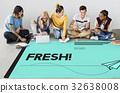 Fresh New Creative Innovative Graphic 32638008