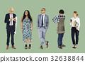 企业家 一排 小型企业 32638844