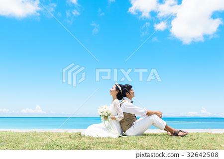 海滩婚礼 32642508
