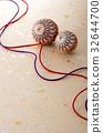 日本传统手球 传统工艺 带刺的果子 32644700