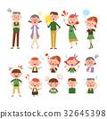가족 (전신 상반신 세트) 32645398